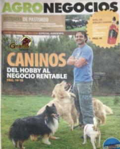 Christian Vásquez en Portada de AGRONEGOCIO